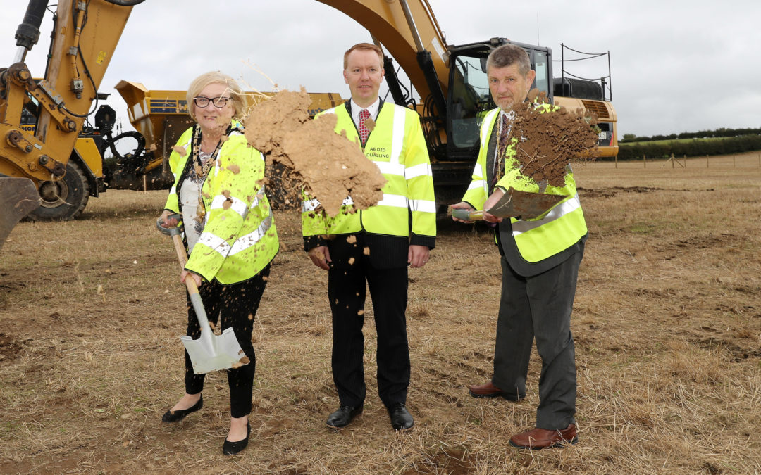 First SOD turned on the A6 Dungiven to Drumahoe Dualling Scheme